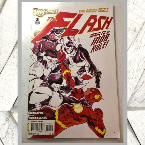 DC Comics Other - 2012 DC Comics The Flash No. 3